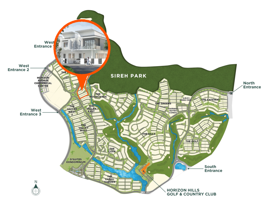 Master Plan-The Woodlands-Link Home