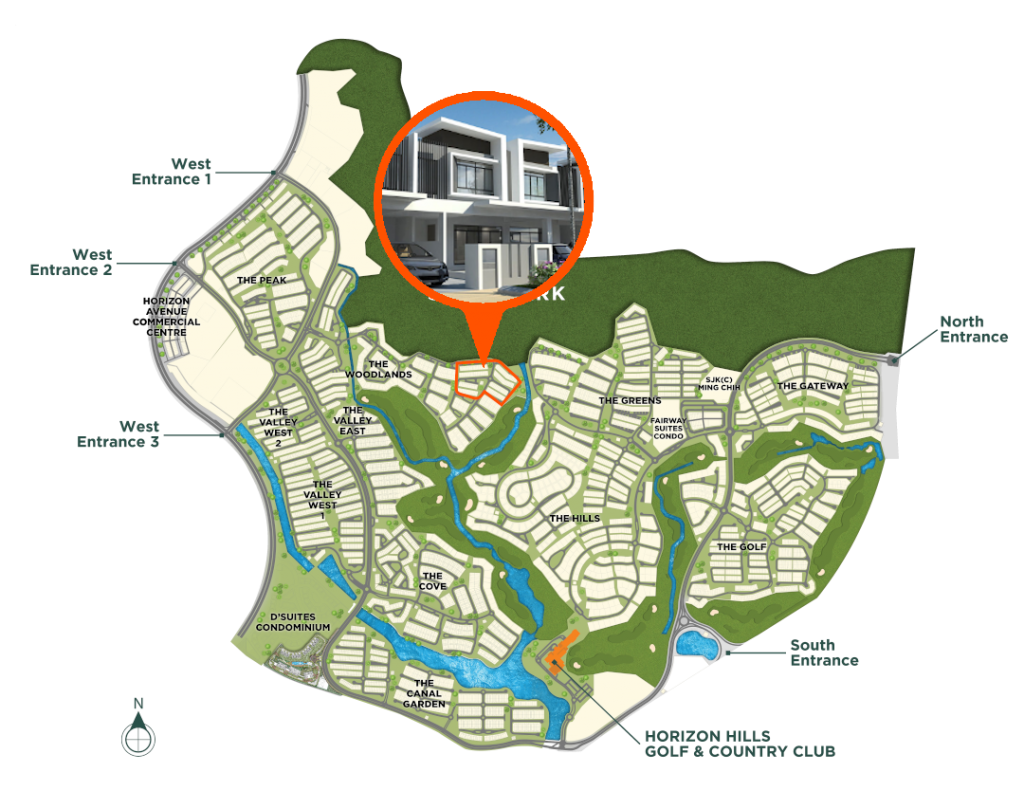 Master Plan-The Woodlands-Super Link Home