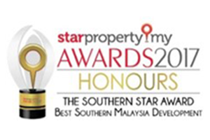 Honours - Best Southern Malaysia Development'