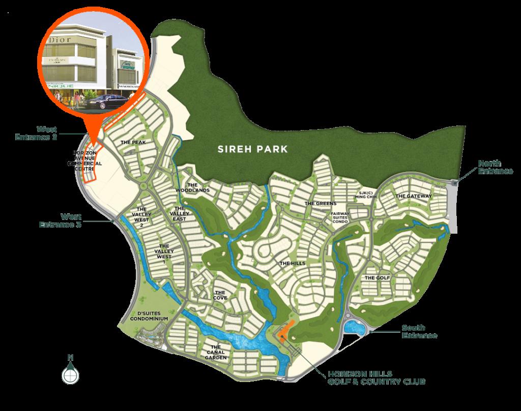 Master Plan Horizon Avenue